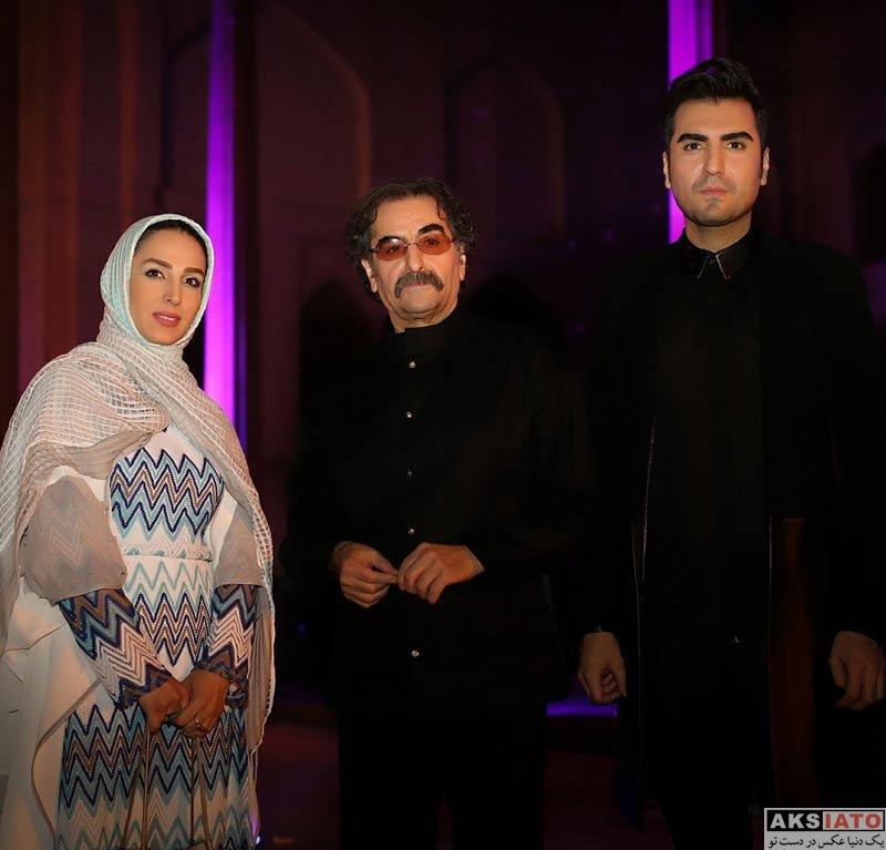 بازیگران بازیگران زن ایرانی  سوگل طهماسبی در کنسرت شهرام و حافظ ناظری