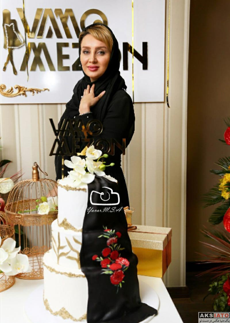 بازیگران بازیگران زن ایرانی  سولماز حصاری در مراسم افتتاحیه شعبه جدید مزون وامو