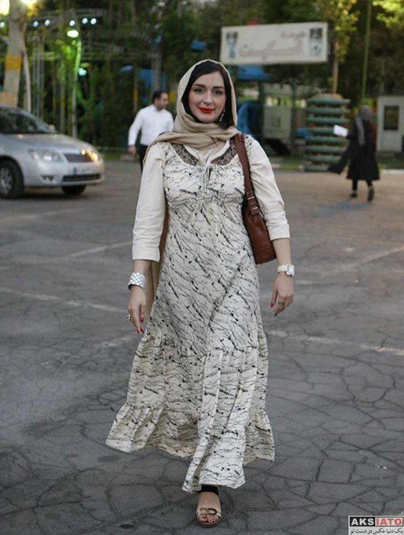 بازیگران بازیگران زن ایرانی جشن سینمای ایران  ترانه مژگان در نوزدهمین جشن خانه سینما (۳ عکس)