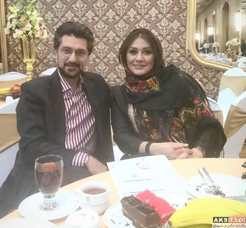 خانوادگی  عکس های امیرحسین مدرس و همسرش در شهریور 96 (4 تصویر)