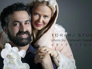 عکس های آتلیه بهاره رهنما و همسر دومش