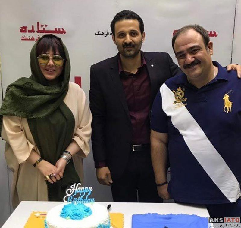 بازیگران بازیگران زن ایرانی  بهنوش بختیاری در جشن تولد مهران غفوریان (۴ عکس)