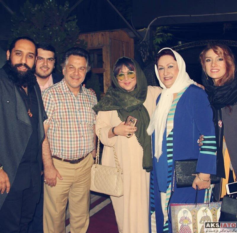 بازیگران بازیگران زن ایرانی  بهنوش بختیاری در مراسم افتتاحیه کافه جواد رضویان (۴ عکس)