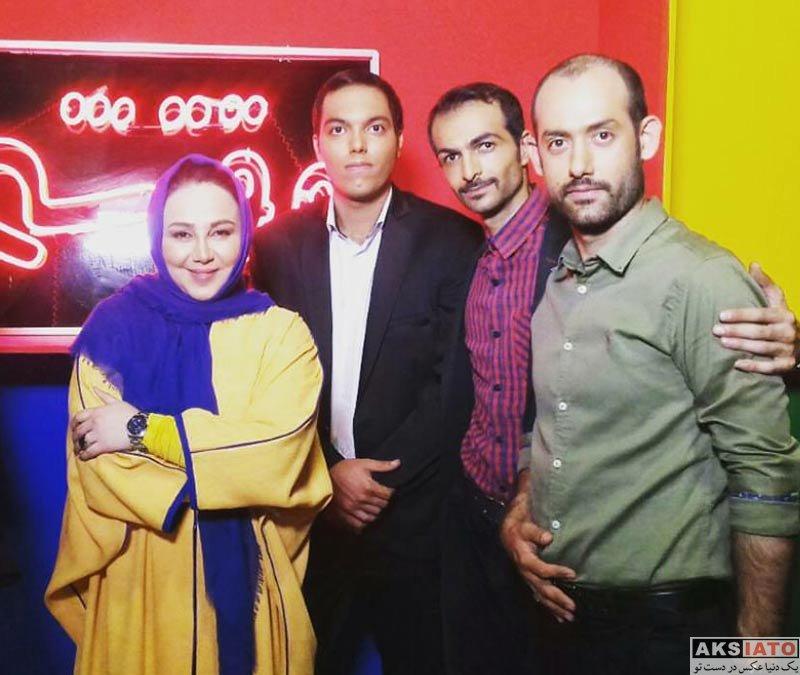 بازیگران بازیگران زن ایرانی  بهنوش بختیاری در برنامه وقتشه (4 عکس)