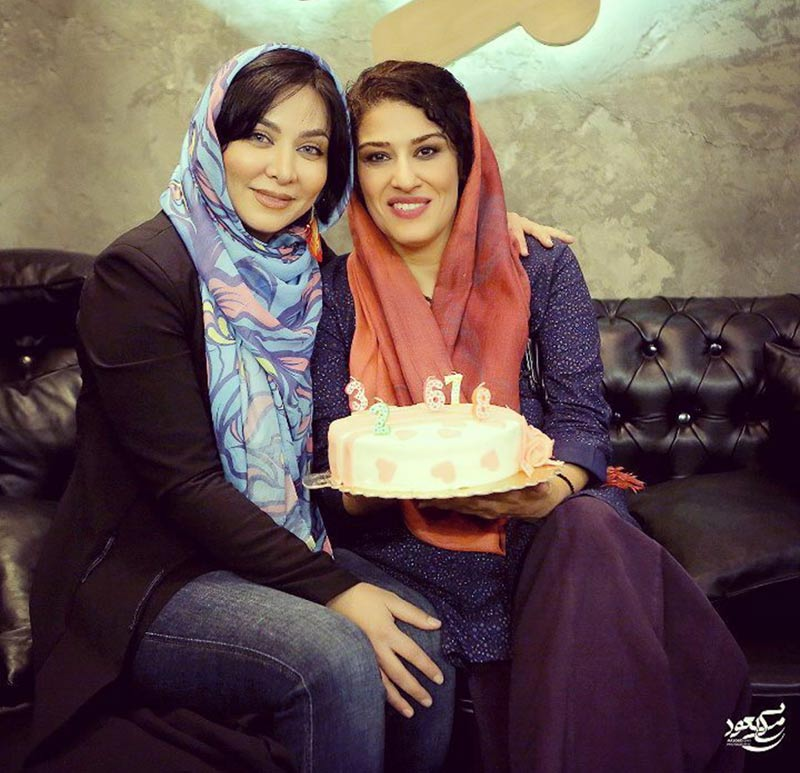بازیگران بازیگران زن ایرانی جشن تولد ها  جشن تولد فقیهه سلطانی به حضور هنرمندان (5 عکس)