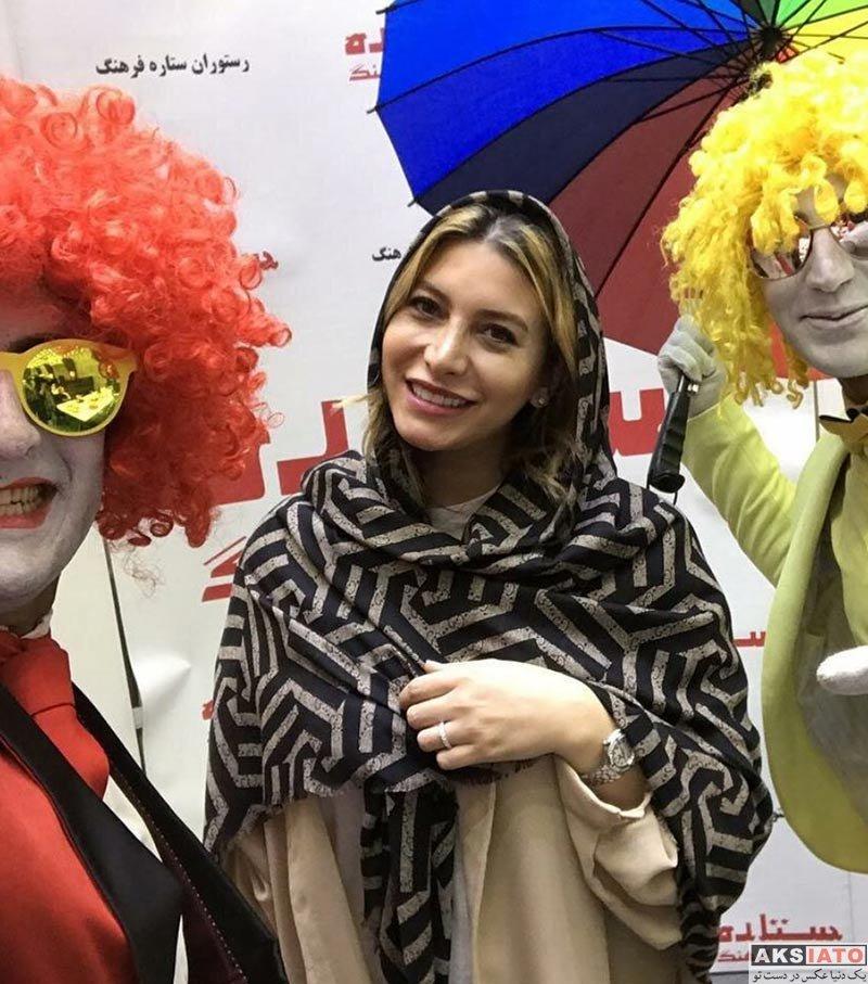بازیگران بازیگران زن ایرانی  فریبا نادری در جشن تولد مهران غفوریان (4 عکس)