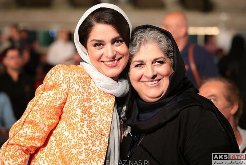 بازیگران بازیگران زن ایرانی جشن سینمای ایران  غزل شاکری در نوزدهمین جشن خانه سینما (4 عکس)