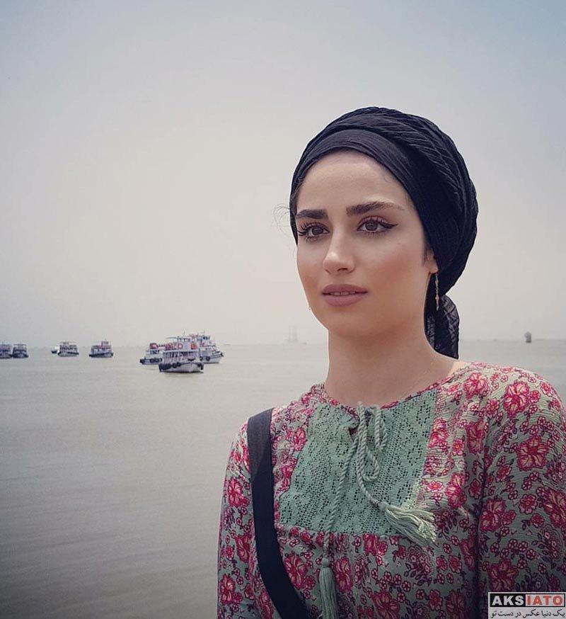 بازیگران بازیگران زن ایرانی  عکس های هانیه غلامی در شهریور ماه 96 (7 تصویر)