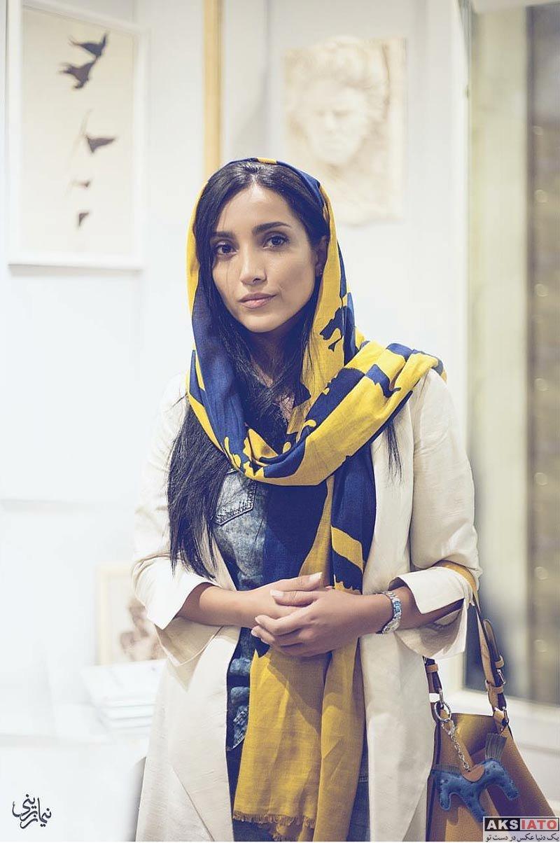 بازیگران بازیگران زن ایرانی  عکس های خاطره اسدی در شهریورماه ۹۶ (۶ عکس)