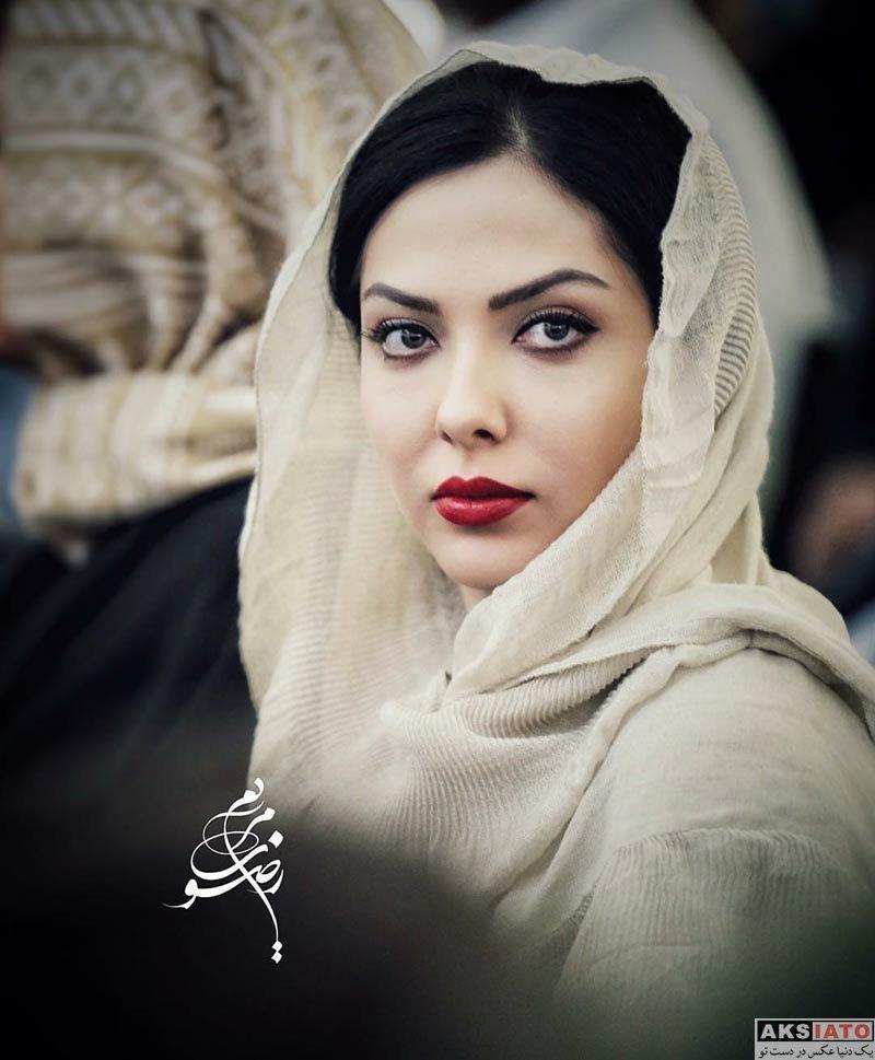 بازیگران بازیگران زن ایرانی  لیلا اوتادی در افتتاحیه آمفی کافه (2 عکس)