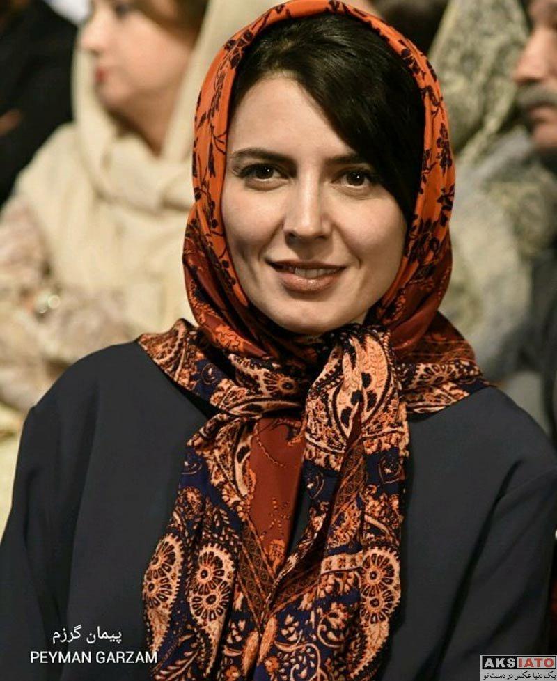 بازیگران بازیگران زن ایرانی جشن سینمای ایران  لیلا حاتمی در نوزدهمین جشن خانه سینما (6 عکس)