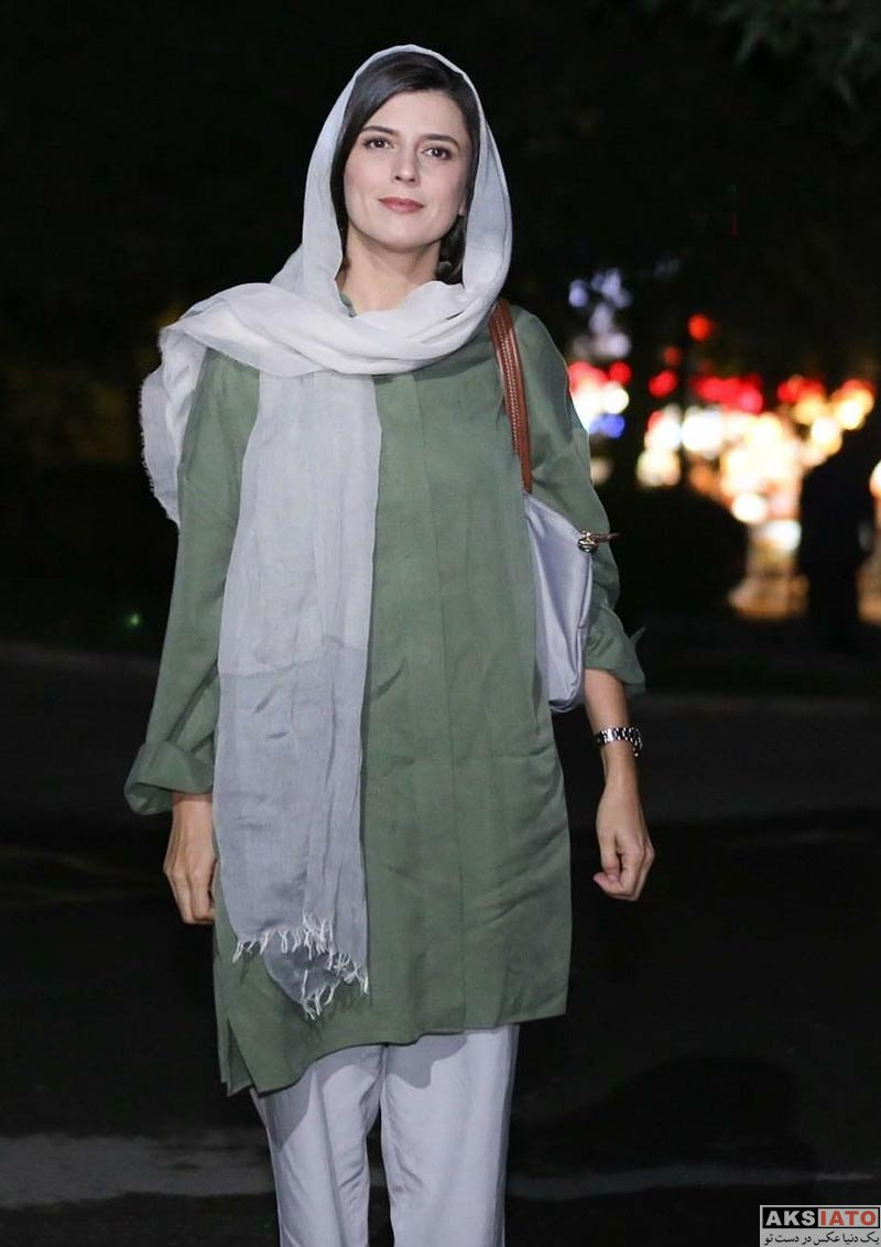بازیگران بازیگران زن ایرانی  لیلا حاتمی در اکران مردمی فیلم رگ خواب در سینما ملت (6 عکس)