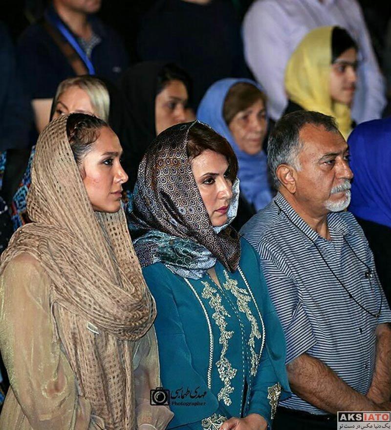بازیگران زن ایرانی خانوادگی  فاطمه گودرزی و دخترش در نوزدهمین جشن خانه سینما (۴ عکس)