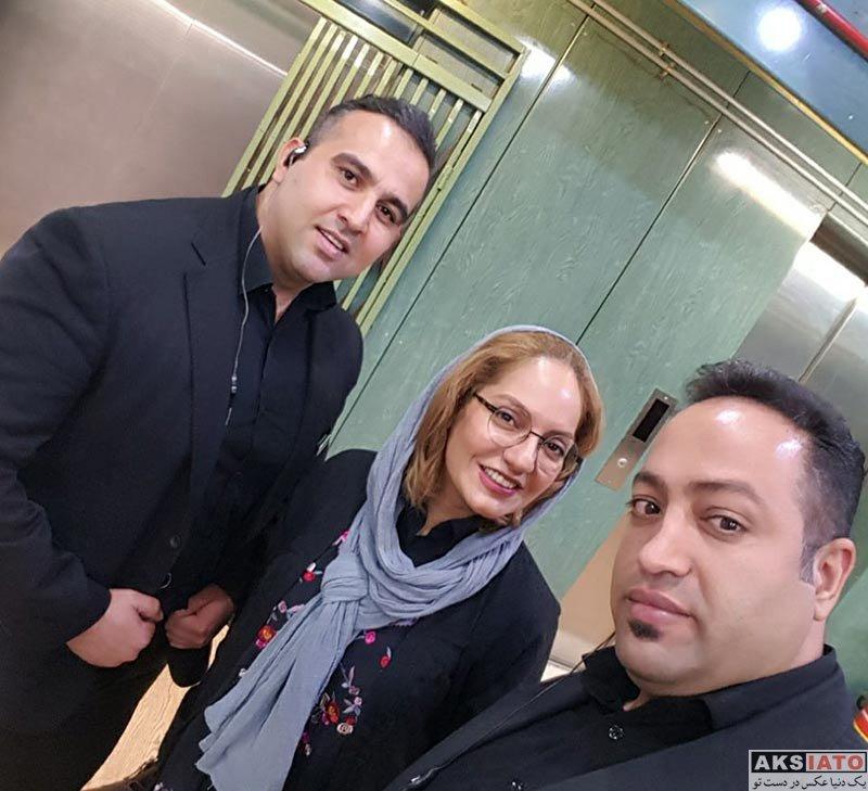 بازیگران بازیگران زن ایرانی  مهناز افشار در کنسرت محمدرضا گلزار (4 عکس)