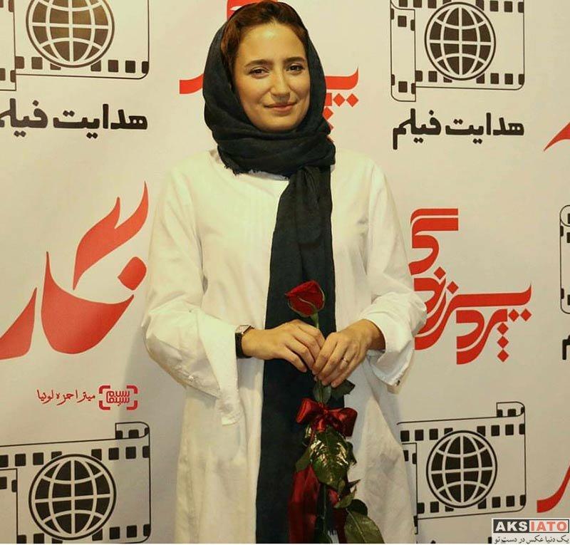 بازیگران بازیگران زن ایرانی  نگار جواهریان در اکران فیلم نگار در پردیس کوروش (5 عکس)