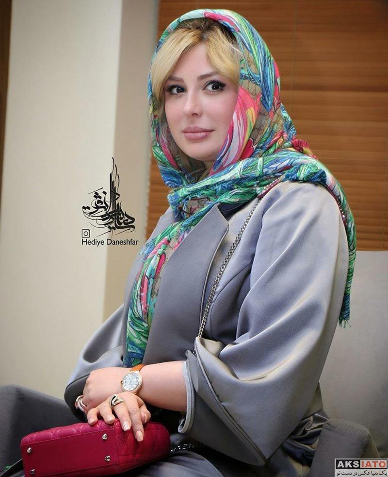 بازیگران بازیگران زن ایرانی  نیوشا ضیغمی در اکران مردمی فیلم اکسیدان (5 عکس)