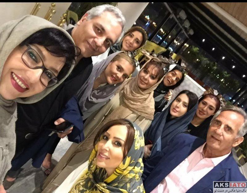بازیگران بازیگران زن ایرانی  پرستو صالحی در افتتاحیه آمفی کافه (3 عکس)