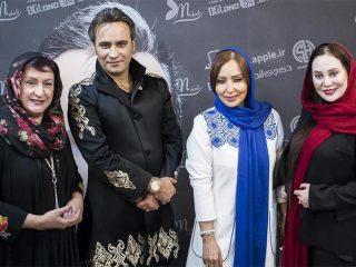 عکسهای بازیگران در کنسرت شهرام شکوهی
