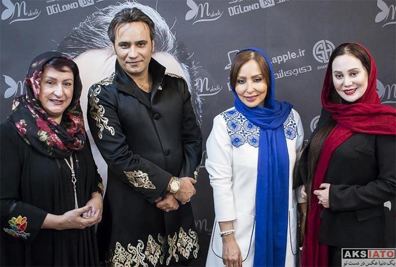 بازیگران بازیگران زن ایرانی  پرستو صالحی در کنسرت حامد همایون (3 عکس)