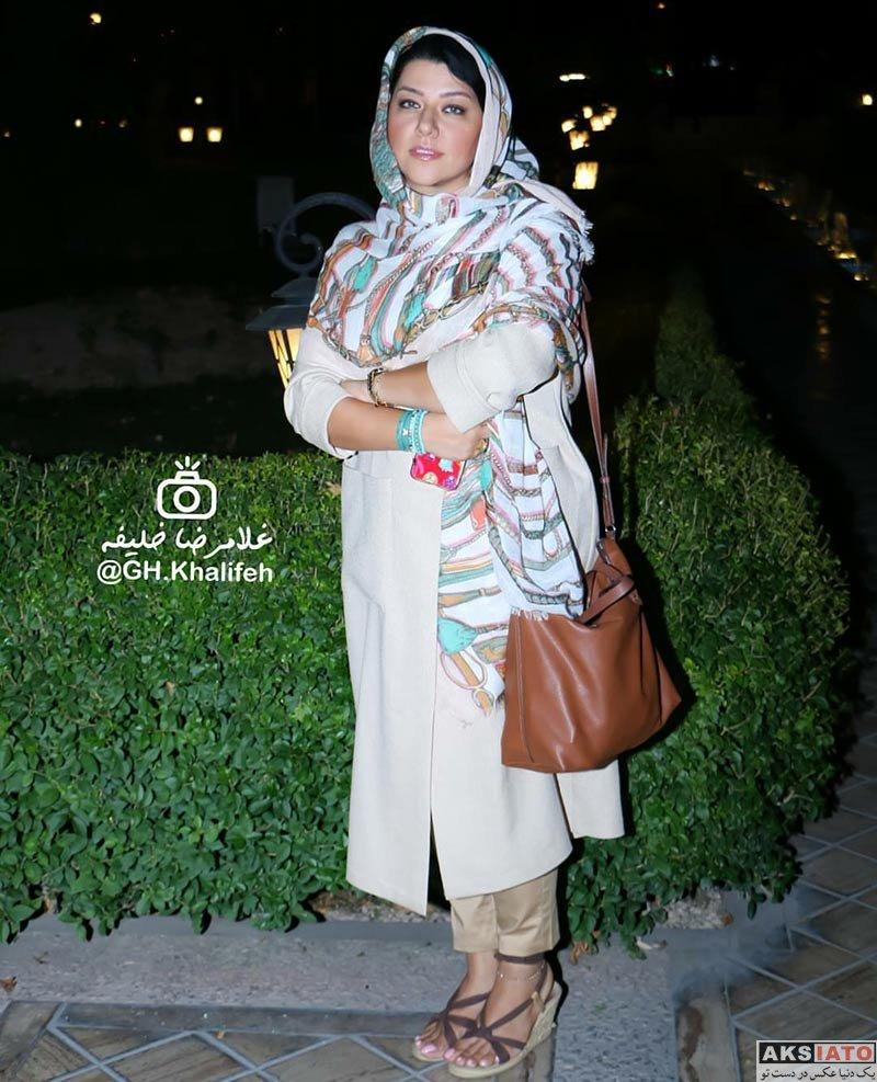 بازیگران بازیگران زن ایرانی  پریچهره قنبری در اکران خصوصی فیلم لیلا (۲ عکس)
