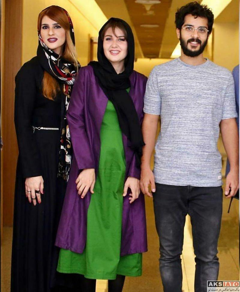 خانوادگی  ساعد سهیلی و همسرش در کنسرت محمدزند وکیلی