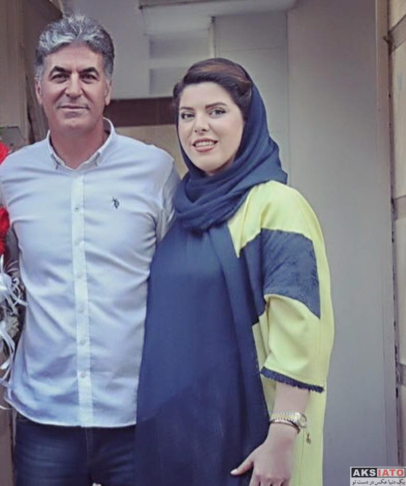 خانوادگی  سعید عزت اللهی و خواهرش ساغر (2 عکس)