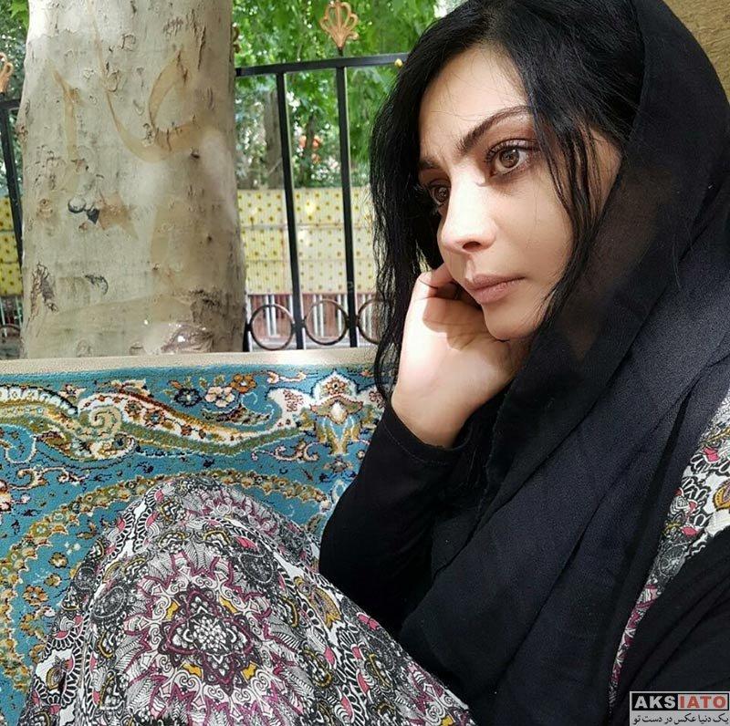 بازیگران بازیگران زن ایرانی  صحرا اسداللهی بازیگر سریال در جستجوی آرامش