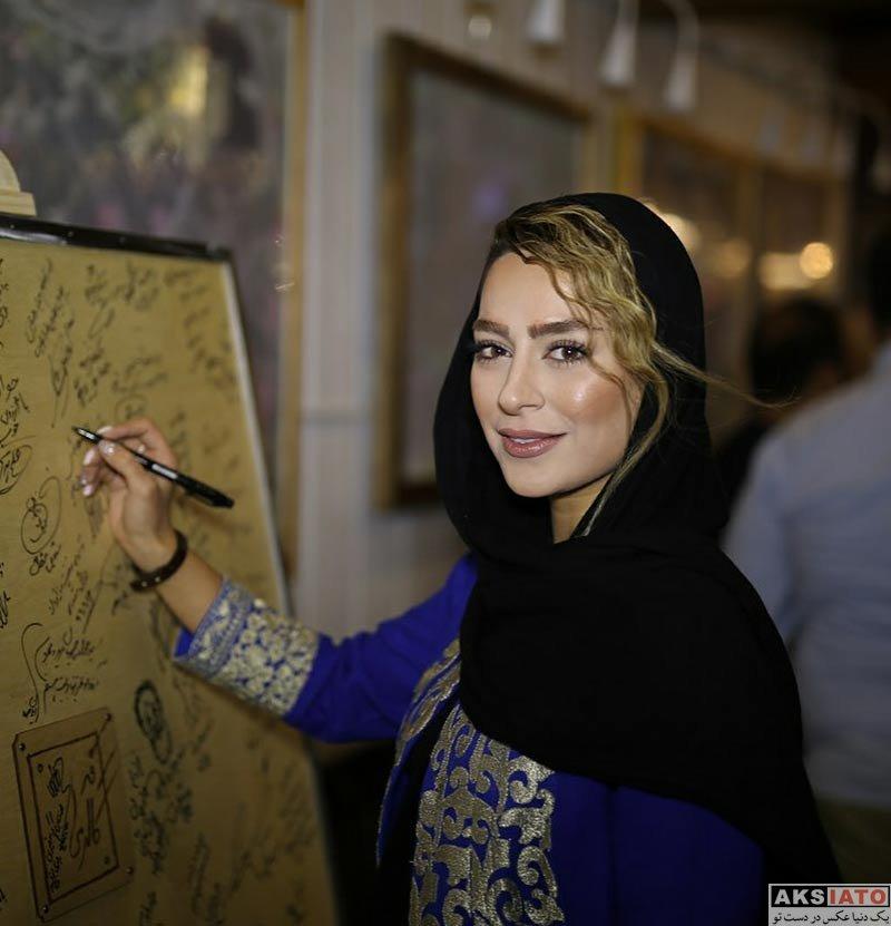 بازیگران بازیگران زن ایرانی  سمانه پاکدل در مراسم افتتاحیه کافه جواد رضویان (2 عکس)
