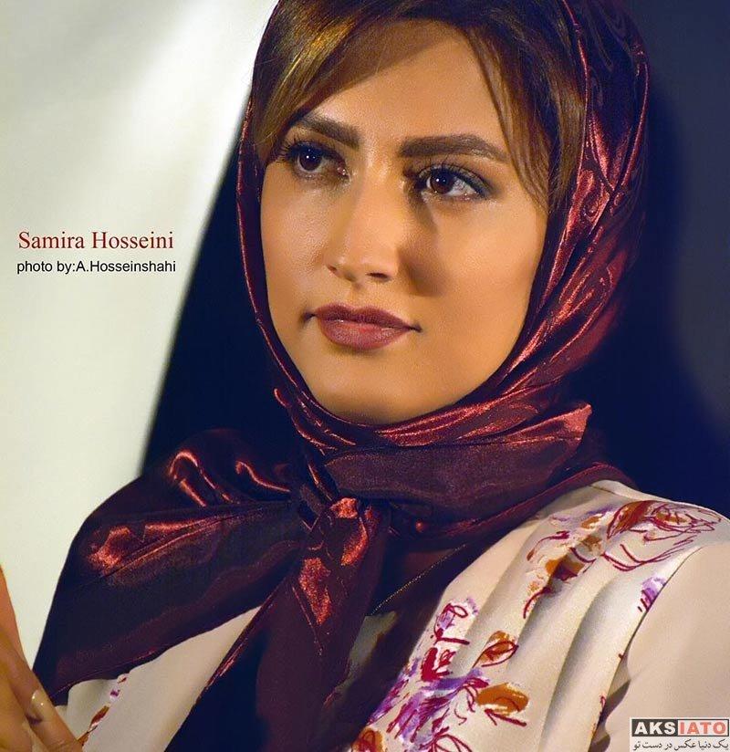 بازیگران بازیگران زن ایرانی  عکس های سمیرا حسینی در شهریورماه 96 (7 تصویر)