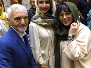 عکسهای هنرمندان در جشن تولد مهران غفوریان