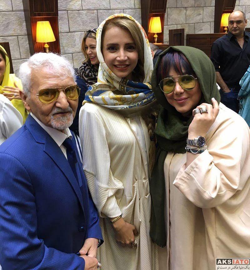 بازیگران بازیگران زن ایرانی  شبنم قلی خانی در جشن تولد مهران غفوریان (۴ عکس)