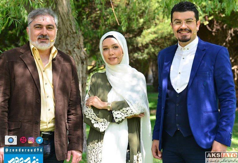 بازیگران بازیگران زن ایرانی  شهرزاد کمال زاده در برنامه زنده رود (۴ عکس)