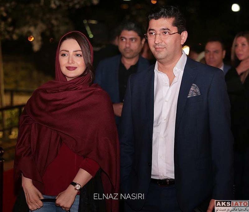 خانوادگی  شیلا خداداد و همسرش در افتتاحیه آمفی کافه (4 عکس)