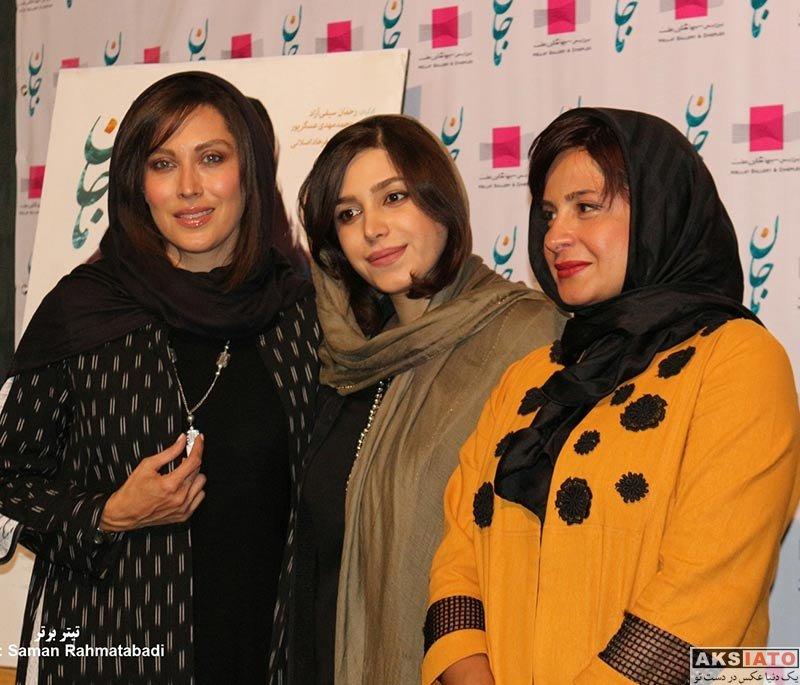 بازیگران بازیگران زن ایرانی  سیما تیرانداز در مراسم افتتاحیه فیلم ماجان (3 عکس)