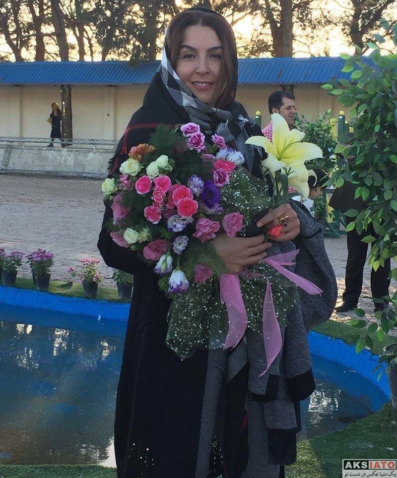 بازیگران بازیگران زن ایرانی  عکس های آزیتا ترکاشوند در مهرماه ۹۶ (5 تصویر)