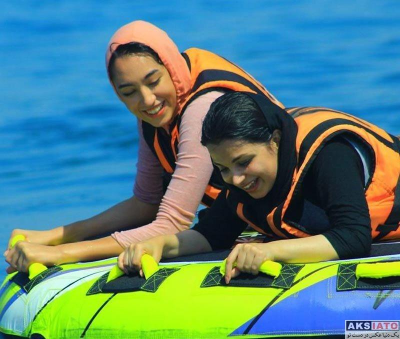 ورزشکاران ورزشکاران زن  تفریح و گردش کیمیا علیزاده در تابستان 96 (4 عکس)
