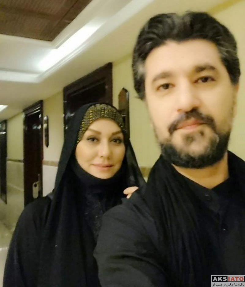 خانوادگی  امیرحسین مدرس و همسرش در شهر نجف اشرف (3 عکس)