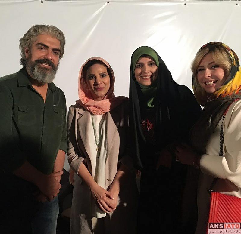 بازیگران مجریان  مژده لواسانی در کنسرت نمایشی سی (2 عکس)