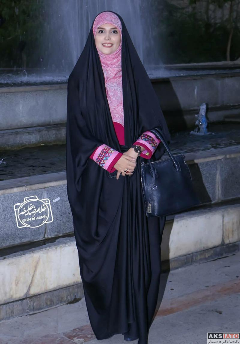 بازیگران مجریان  مژده لواسانی در مراسم امضای کتاب جدیدش (5 عکس)