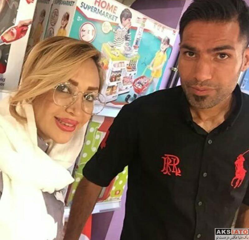 خانوادگی  عکس های جدید امیرحسین صادقی و همسرش (3 عکس)