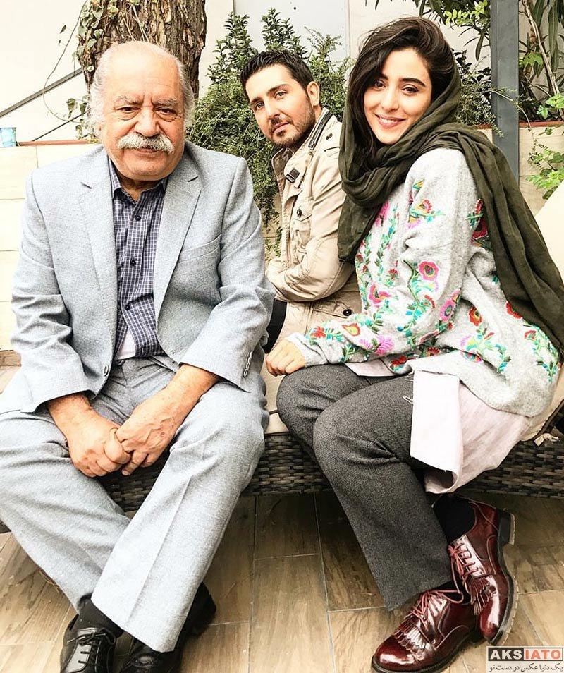 بازیگران بازیگران زن ایرانی آناهیتا افشار در سریال سایه بان (3 عکس)