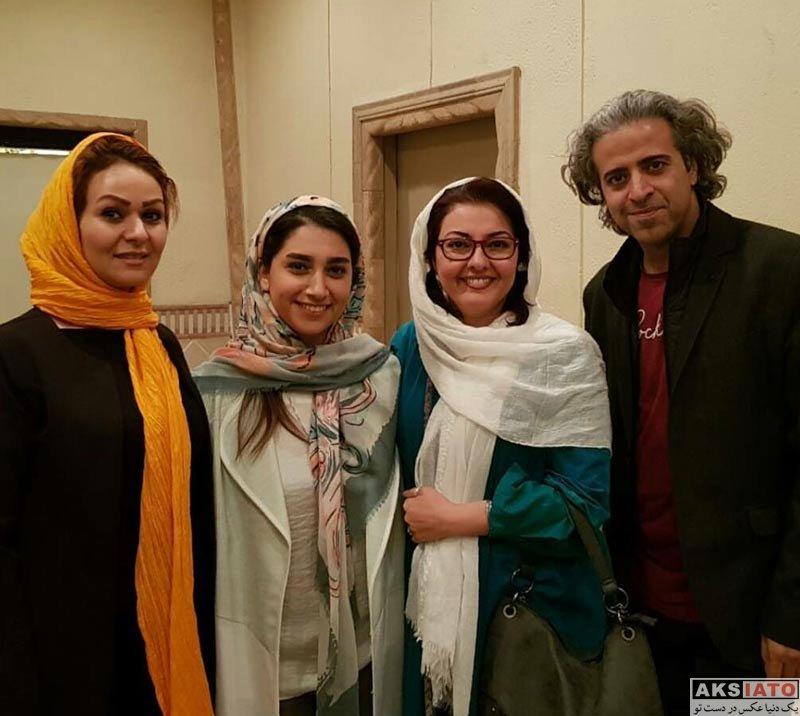 بازیگران بازیگران زن ایرانی  آناهیتا همتی در اجرای نمایش هفت عصر هفتم پائیز (3 عکس)