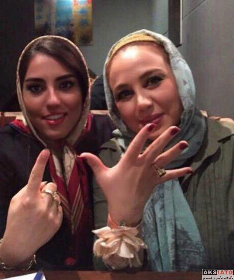 بازیگران بازیگران زن ایرانی کری بهنوش بختیاری بعد از برد پرسپولیس