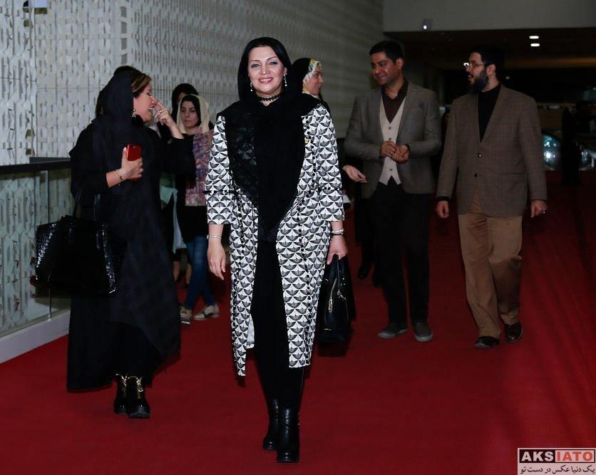 بازیگران بازیگران زن ایرانی  الهام پاوه نژاد در اکران خصوصی فیلم مالاریا (4 عکس)