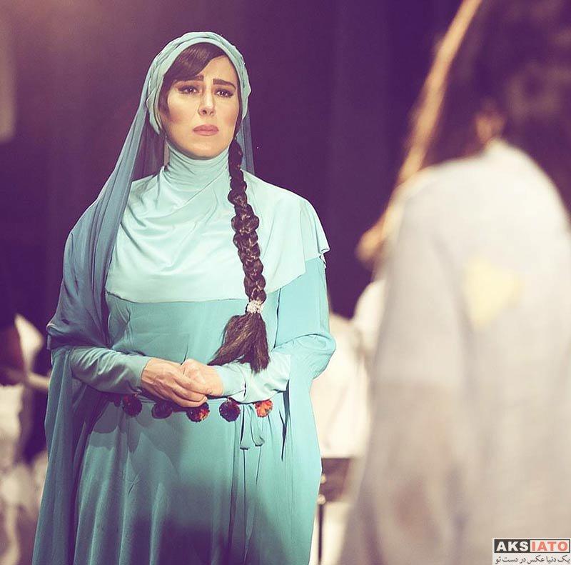 بازیگران بازیگران زن ایرانی  الهام جعفرنژاد در نمایش سهروردی (3 عکس)