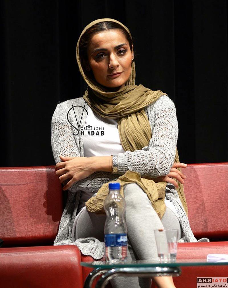 بازیگران بازیگران زن ایرانی  السا فیروزآذر در جلسه نقد و بررسی فیلم «ملی و راه های نرفته اش»