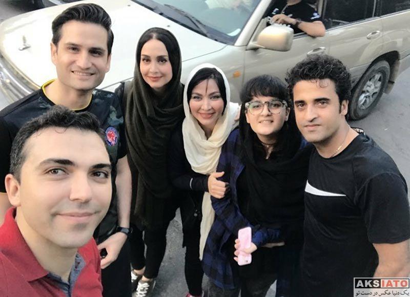 بازیگران بازیگران زن ایرانی  عکس های فقیهه سلطانی در مهر ماه 96 (5 تصویر)