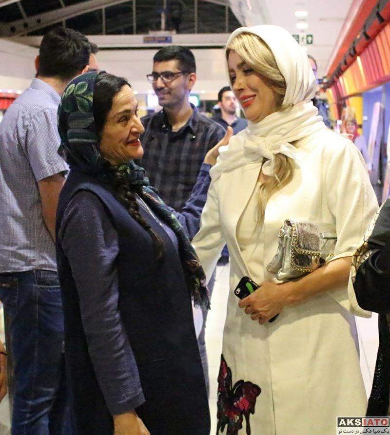 بازیگران بازیگران زن ایرانی  گلشید بحرایی در اکران فیلم برگ جان (3 عکس)