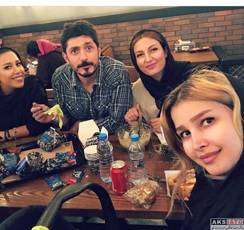 خانوادگی  عکس های حدیث میرامینی و همسرش در مهر 96