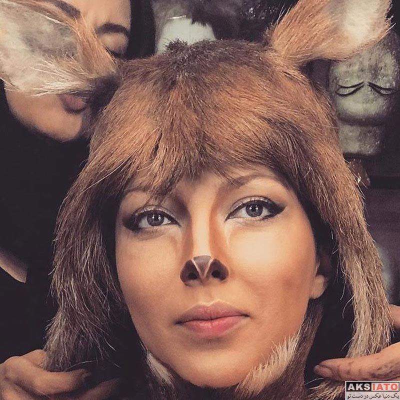 مزون مانتو اصفهان گریم سنگین لیلا اوتادی در فیلم آهوی پیشونی سفید ۲ (5 عکس ...